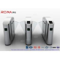 Wholesale Flap Barrier Gate Flap Wing Automatic Systems Turnstiles Polishing With Anti - Reversing Passing from china suppliers