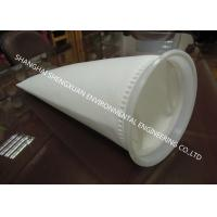 Wholesale White 1-200 Micron Filter Bags , Liquid Filter Bag For Chemical Industry Filtering from china suppliers