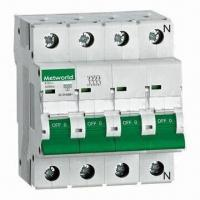Buy cheap Mini Circuit Breaker with High-breaking Capacity (Icn=6kA) from wholesalers