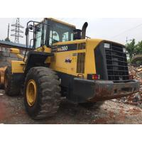 Wholesale used KOMATSU WA 380-6 loader for sale from china suppliers