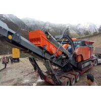 Quality Flexible configuration and wide application Crawler - type Mobile Crushing & Screening Plant ER-3 for sale