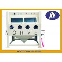 Buy cheap 220V 50HZ 1.1KW Manual Professional Sandblasting Equipment For Surface Cleaning from wholesalers
