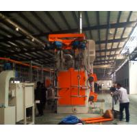 Wholesale Y Shape Spinner Hanger Shot Blasting Machines , Shot Peening Machine Customized from china suppliers