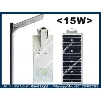 Wholesale 12V 15W Integrated  All In One Solar LED Street Lights for Street/ Garden / Courtyard / Road from china suppliers
