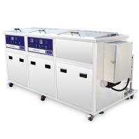 Wholesale Large Industrial auto parts Ultrasonic Cleaner Large Capacity, Dual Tanks With Filter and Drying tank from china suppliers