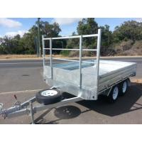 Wholesale Rocker Roller Tray Top Trailer 10 X 6 Tandem Trailer With 4 Wheel Disc Brakes from china suppliers