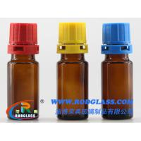 Wholesale 10ml amber reagent glass bottle ,narrow mouth for liquids from china suppliers