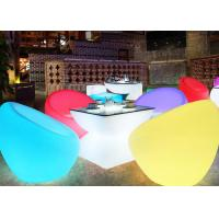 Wholesale Plastic Molded Illuminated Furniture Party Led Table And Chair Set IR Remote from china suppliers