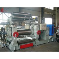 Wholesale Bored Roll Rubber Two Rollers Mixing Mill , PVC Plastic rolling mill equipment from china suppliers
