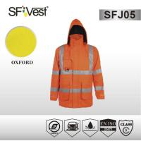 China Man Safety hi vis reflective clothing motorcycle jacket EN ISO 20471 on sale