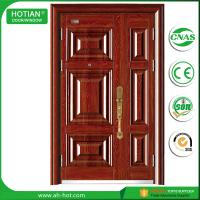 Wholesale Made in China Single Leaf Stainless Steel Security Door Metal Doors Residential from china suppliers