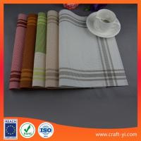 Wholesale Placemat and coaster set table cloth Textilene mesh fabric table mats supplier from china suppliers