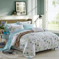 Wholesale Blue / Grey Home Bedding Comforter Sets Full / King / Queen / Twin Size from china suppliers