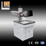 Desktype Fiber Laser Marking Machines For Metal Spoon Chargers Keyboards