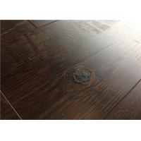 Wholesale Black EIR Waterproof Wood Laminate Flooring , Glueless DIY Laminate Floor from china suppliers