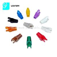 Wholesale 100 Boots Cap Plug Rj 45 Network Jack For Computer Cat5e Cat6 Boot from china suppliers