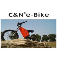 Quality Stealth Bomber Off Road Electric Bike , TFT Colorful Display Enduro E Bike for sale
