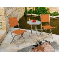 Wholesale Bright Color Folding Small Outdoor Table And Chairs For Coffee / Enjoy Life from china suppliers