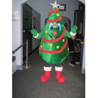Wholesale Christmas Tree costume, Plush mascot costumes, Advertising mascot costume,Custom costume from china suppliers