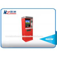 Wholesale IR Touch Screen Bill Payment Kiosk , Free Standing Payment Computer Kiosk Cabinet from china suppliers