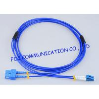 Wholesale Armored Fiber Optic Patch Cable SC - LC G.652D High Resistance Duplex from china suppliers