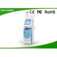 Quality Multi Touch Hospital Check In Kiosk For Patient , Push And Pull Medical Office Check In Kiosk for sale