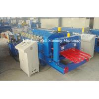 Wholesale 45# Steel Corrugated Glazed Tile Roll Forming Machine 0.4 - 0.6mm Hydraulic Cutting from china suppliers