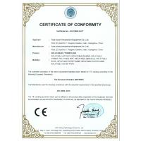 Toys-Ocean Amusement Equipment Co Ltd Certifications