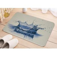 Wholesale Printing Anti-Bacterial Absorbent Non Slip Area Rugs , Non Slip Floor Area Mat Rugs from china suppliers