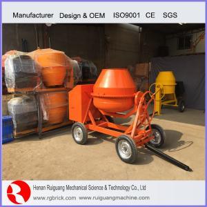 Wholesale mini concrete mixer tilting drum concrete mixer rotary drum concrete mixer from china suppliers