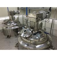Wholesale Stainless Steel Mixing Tanks With Agitators For Medicine / Liquid , PID Temperature Control from china suppliers
