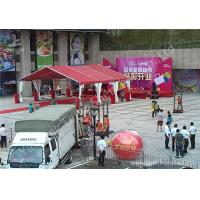 Wholesale Red UV Resistant Fabric Roof Cover Aluminum Frame Tent Structures, Shelter System from china suppliers