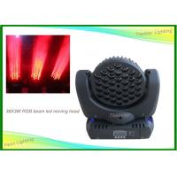Wholesale 36 X 3 W RGB LED Moving Head Light RGBW Beam Wash Led Lights 304×26.7×16.7mm from china suppliers