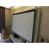 Wholesale 160 Degree Electric Projection Screen Easy Install , Motorized Projection Screen For Business from china suppliers