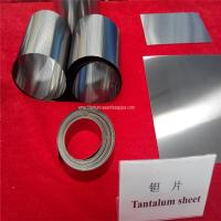 Wholesale 99.95% RO5200,Ta1 ASTM B708-98  Tantalum Sheets  Tantalum plate from china suppliers