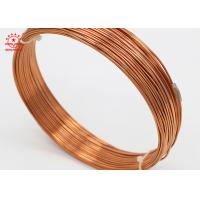 China Refrigeration Industry 6mm Copper Coil , Smooth Incision Copper Tube For Aircon on sale