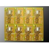 Wholesale Rogers Ro4350 Gold Ceramic PCB Substrate , Double Sided PCB Immersion from china suppliers