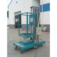Wholesale Light Weight Mobile Aluminum Work Platform Double Mast For Two People Working from china suppliers