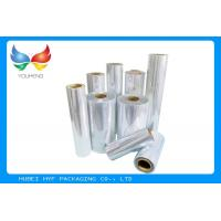 Buy cheap 40 / 45mic Transparent Blown PVC / Cast PETG Shrink Film For Bottle Shrink Label from wholesalers
