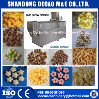Wholesale ss304 stainless steel puffy snacks food processing line manufacturer from china suppliers