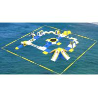 Quality CE Certificate PVC Tarpaulin Adult Inflatable Water Play Equipment For Sea / Ocean for sale