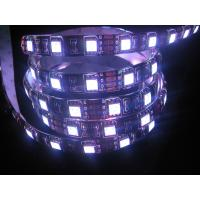 Wholesale 72W 4800LM DC12V SMD5050 Flexible RGB Led Strip Decorative Lighting , Black Board from china suppliers