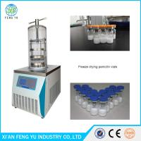 Wholesale FYJ-10B China Top-Press Vacuum Freeze Dryers, Pharmaceutical Vials Lyophilizer , Laboratory Freeze Dryer Price from china suppliers