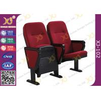 Wholesale VIP Public Foldable Movie Theater Stadium Seating Chairs With Writing Pad from china suppliers