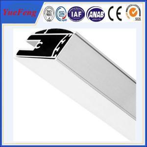 Wholesale aluminum shower screen profile manufacturer, polishing aluminium profiles shower enclosure from china suppliers