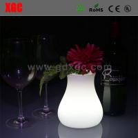Wholesale Outdoor Garden Decrative llluminated flower pots from china suppliers