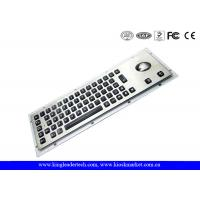 Wholesale Silver Grey Illuminated Metal Keyboard Dust-Proof With 65 LED Individually-Lit Keys from china suppliers