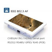 Wholesale 7 Inch IEEE802.3af POE Touch Panel With RJ45 RS485 RS232  Camera from china suppliers