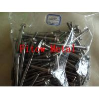 Buy cheap DIN Standard Gr5 Hex Flange Head Anodized Red Titanium Bolt Gr5 DIN 6921 from wholesalers