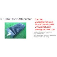 Wholesale N type attenuator 100 Watt 3Ghz N male plug to N female jack fixed attenuator / N-JK100W3G from china suppliers